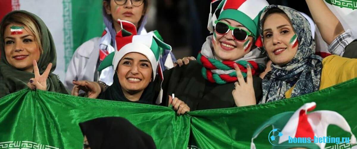 спустя 40 лет женщин пустили на стадионы иран