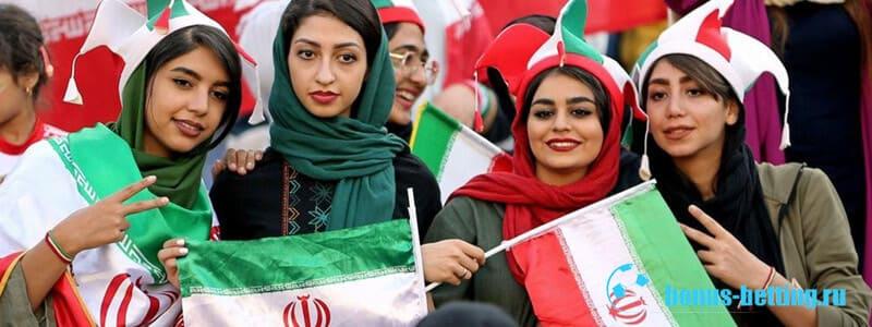 в Иране женщин пустили на стадионы