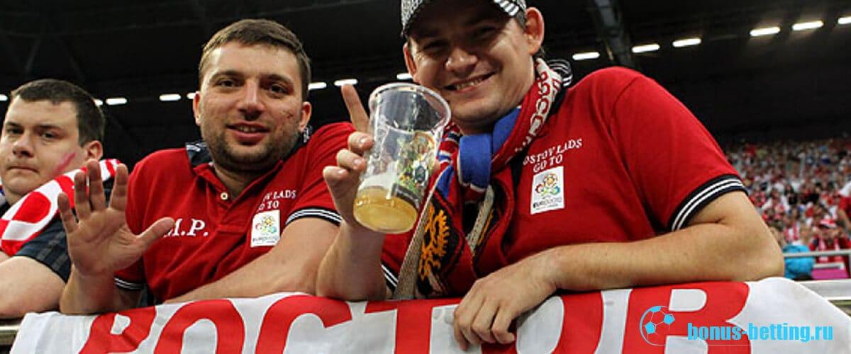 можно ли пить пиво на стадионах в россии