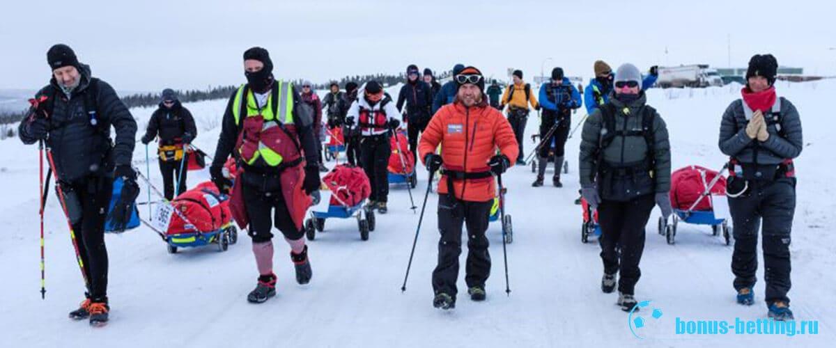 начало марафона 6633 Arctic Ultra