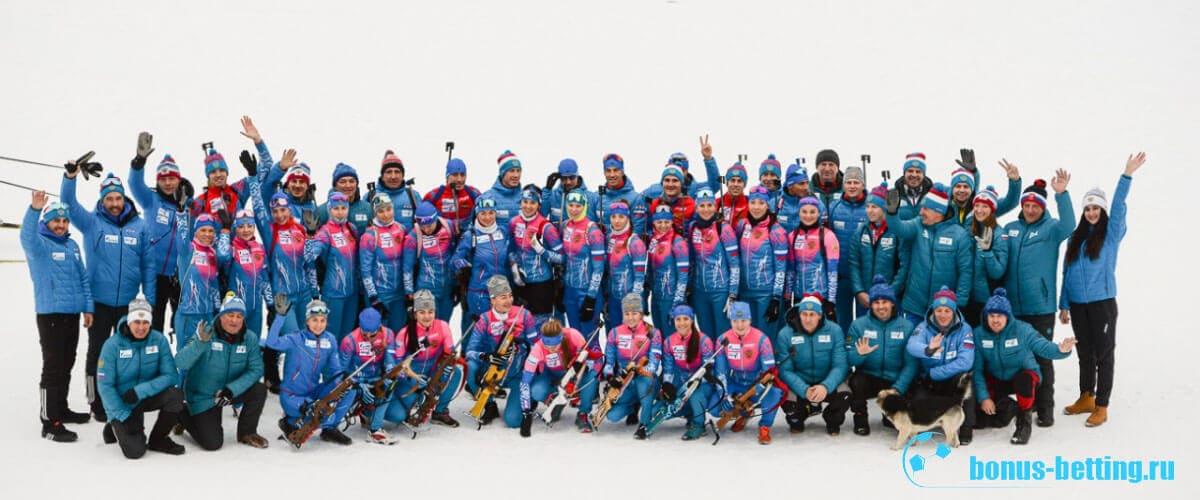 Состав сборной России на КМ по биатлону 2019-2020