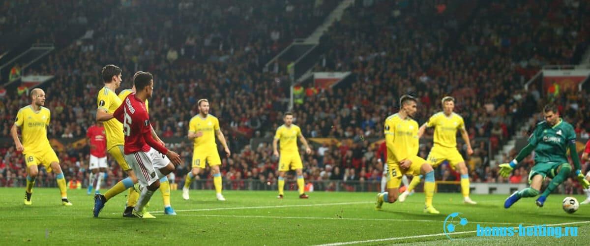 Прогноз на матч Астана – Манчестер Юнайтед 28 ноября