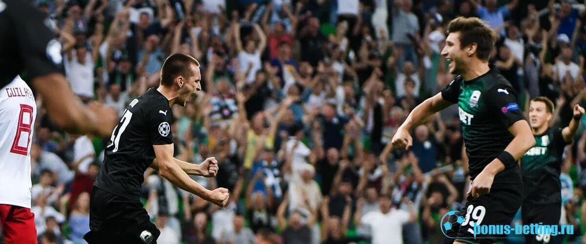 краснодар в лиге европы 2019