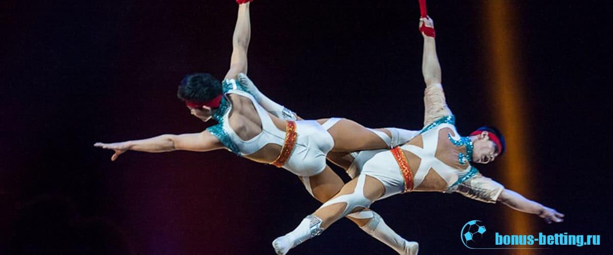 воздушная гимнастика в цирке