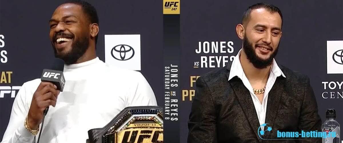Джонс – Рейес прогноз на бой