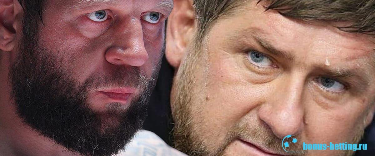 Бой Емельяненко – Кадыров