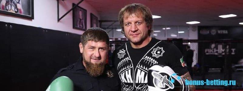Емельяненко и Кадыров
