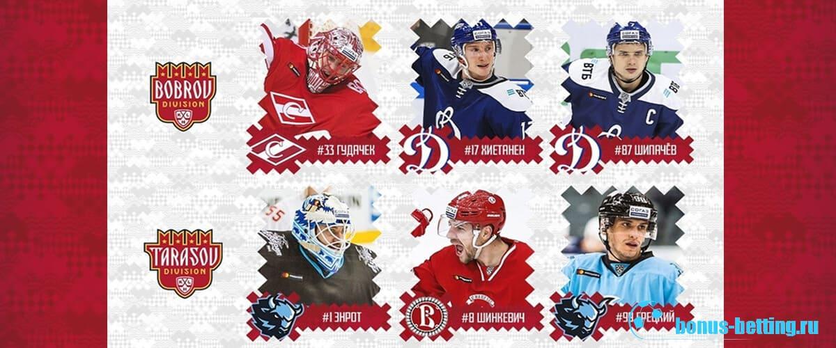 Составы команд Матч всех звезд КХЛ 2020