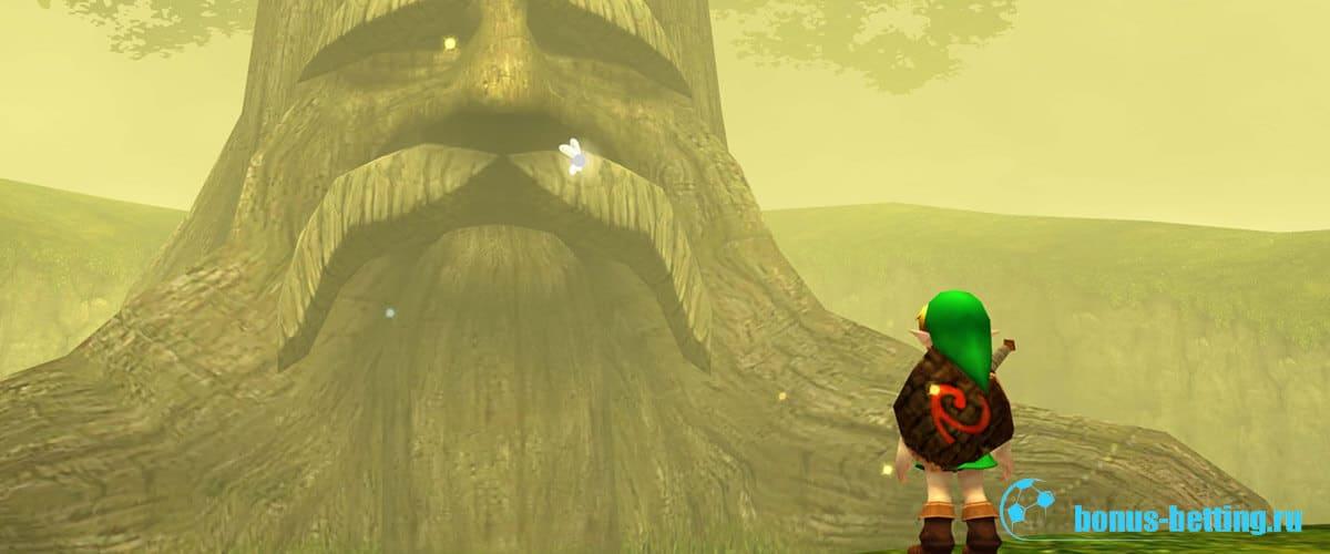 The Legend of Zelda: Ocarina of Time 1998 года