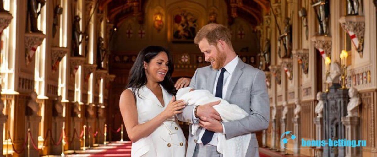 Британская королевская семья Королевские дети