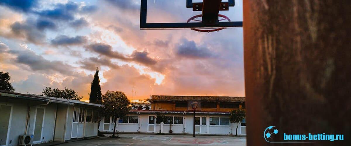 Старая баскетбольная площадка