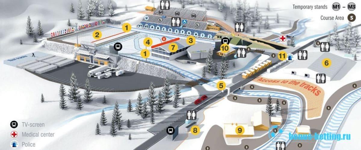 Схема стадиона Sudtirol Arena