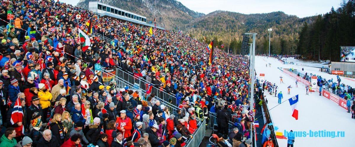 Стадион Sudtirol Arena для проведения ЧМ 2020 по биатлону