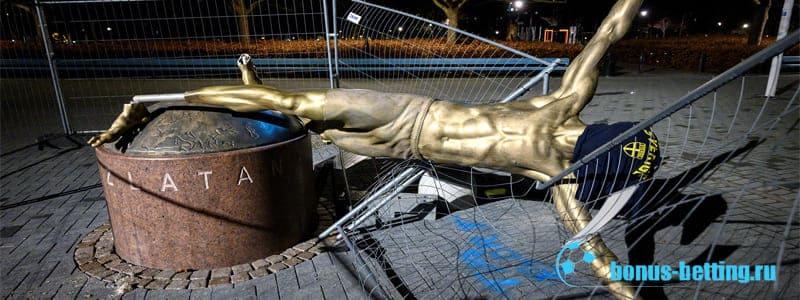 Памятник Ибрагимовичу демонтирован