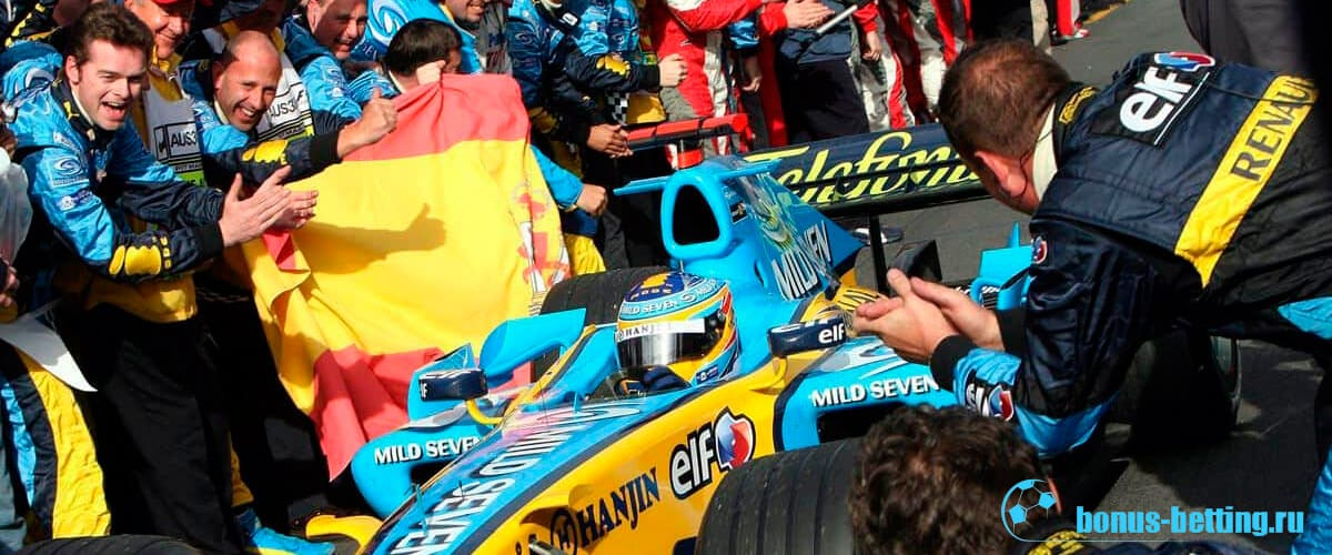 Фернандо Алонсо чемпион 2006