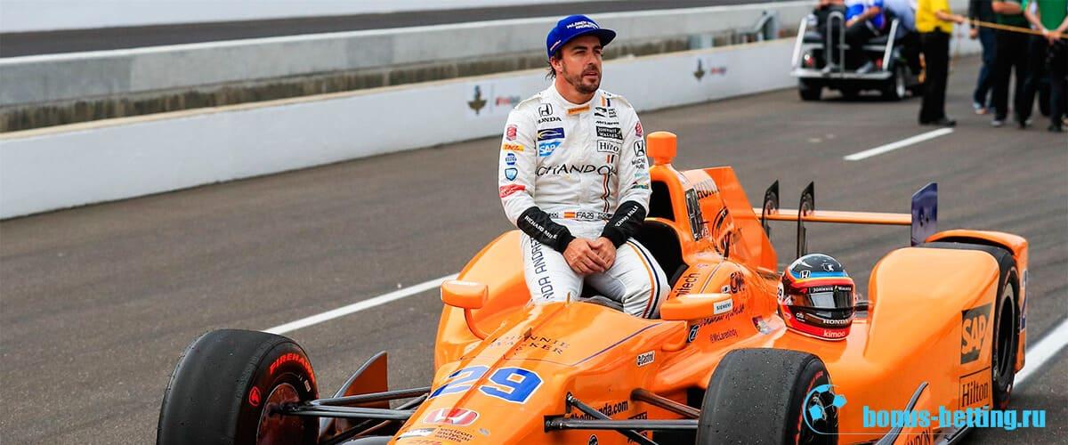 Фернандо Алонсо в Инди 500