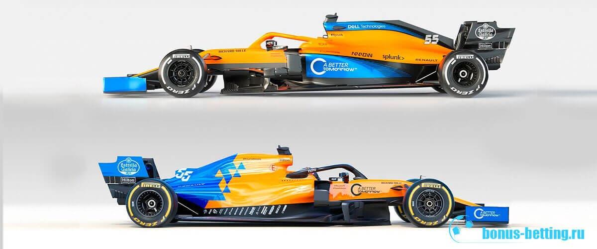 Макларен Формула 1 2020