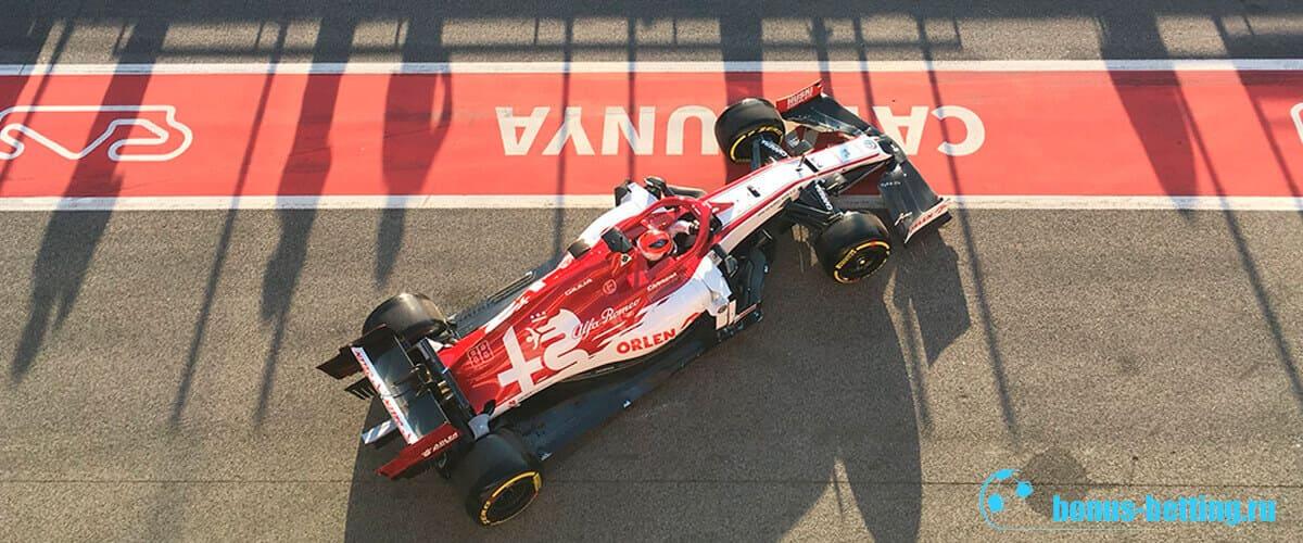 Новые болиды Формула 1 2020 Альфа Ромео