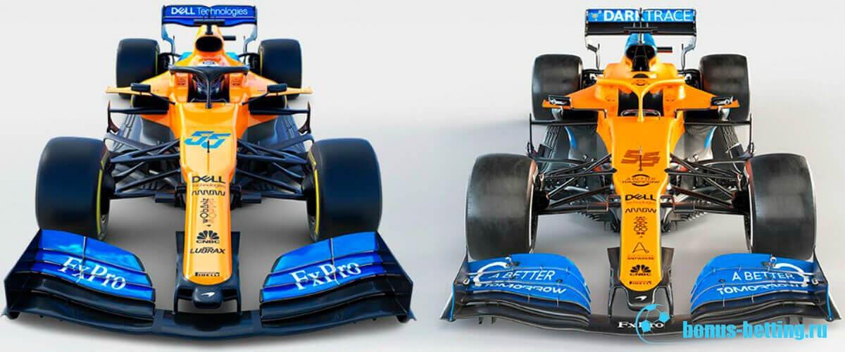 Новые болиды Формула 1 2020 Макларен