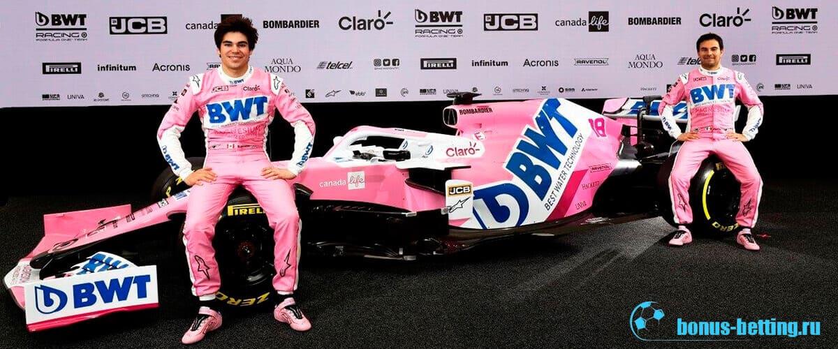 Новые болиды Формула 1 2020 Рейсинг Поинт