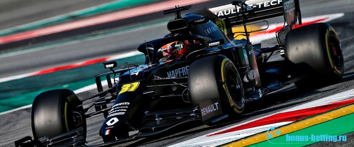 Новые болиды Формула 1 2020 Рено