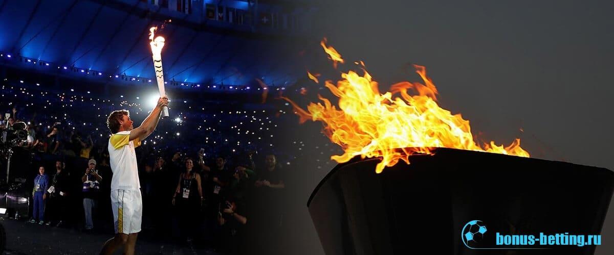 олимпийский огонь 2020