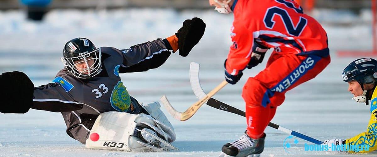 хоккей с мячом игра