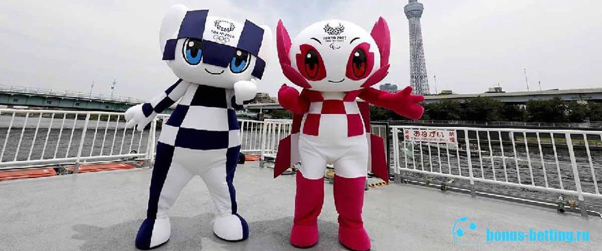 олимпиада 2020 маскот