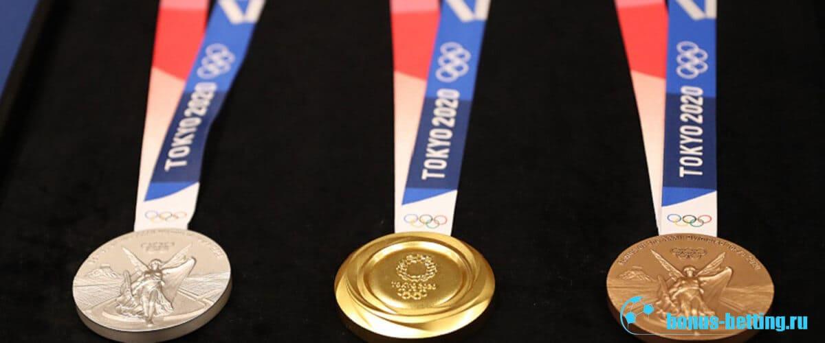 олимпийские игры в токио медали