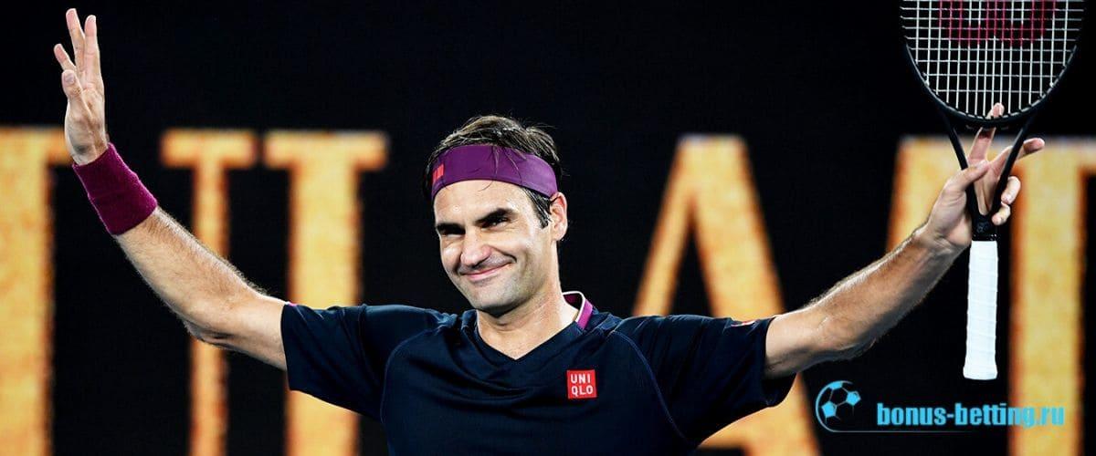 Легендарный Федерер лидер по количеству ТБШ