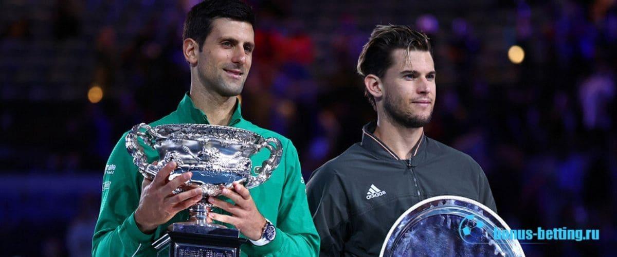 Теннисист Новак Джокович победитель АО 2020