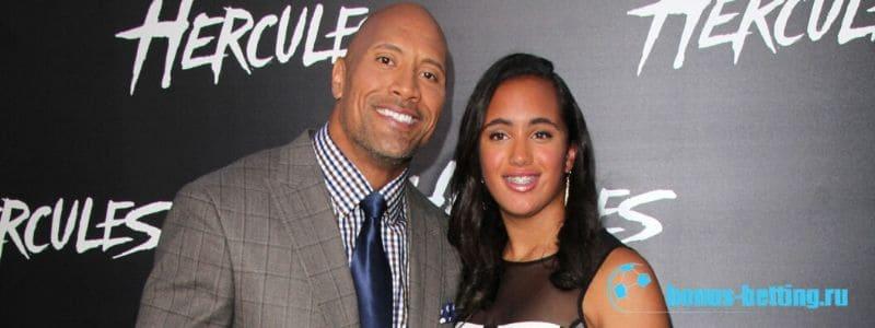 Дочь Дуэйна Джонсона Симона подписала контракт с WWE