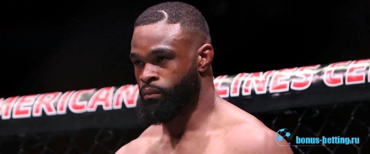 Тайрон Вудли на UFC Fight Night 171
