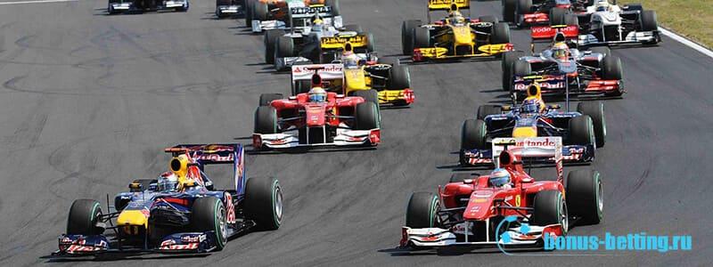Формула 1 партнеры