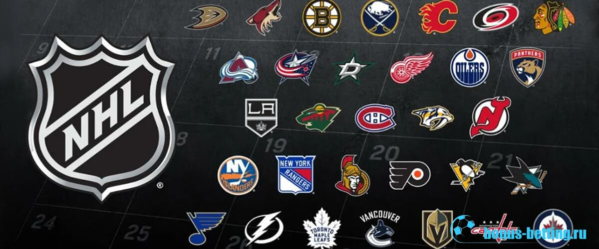 Клубы НХЛ