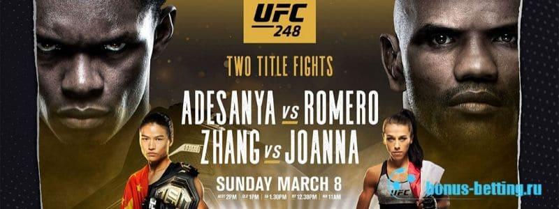 UFC 248: Адесанья – Ромеро