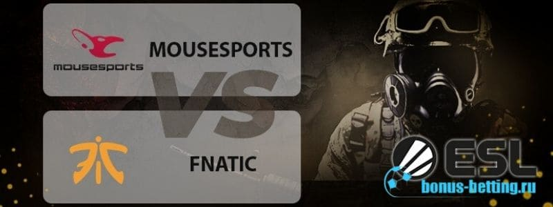 Mousesports – Fnatic 8 апреля: прогноз на второй этап