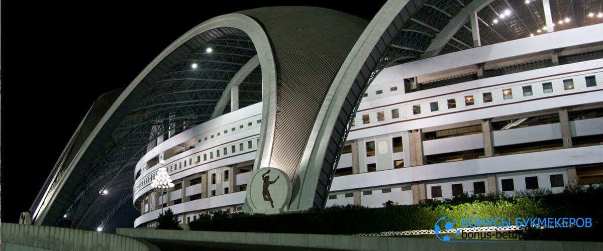 стадион первого мая корея