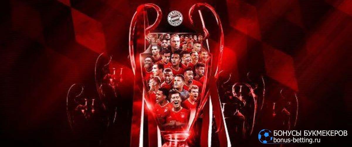 Победитель Лиги чемпионов 2020: ставка на победителя