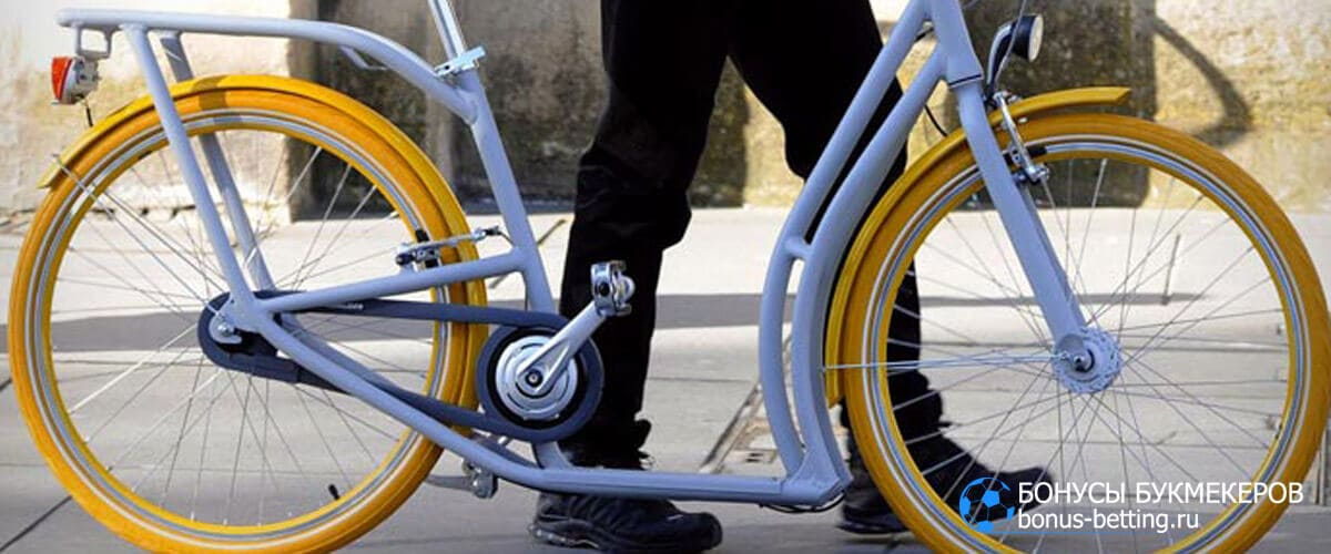 велосипед-самокат