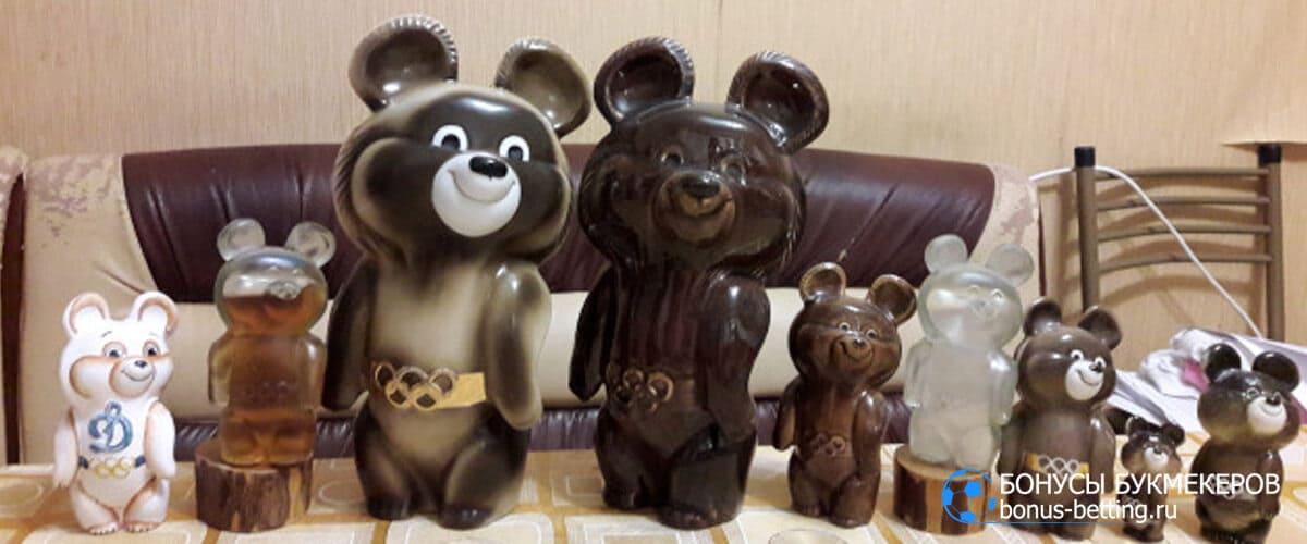 Олимпийский Мишка сувениры