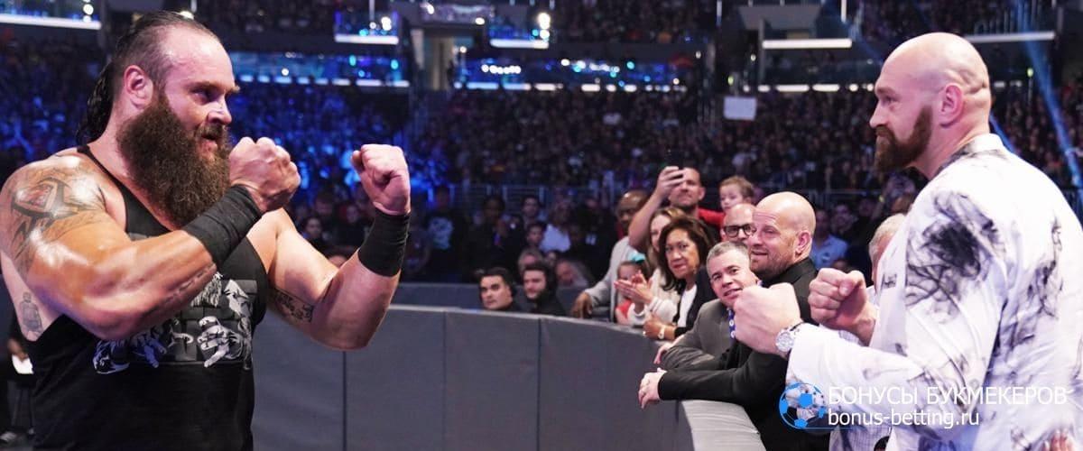 Дебют Фьюри в WWE