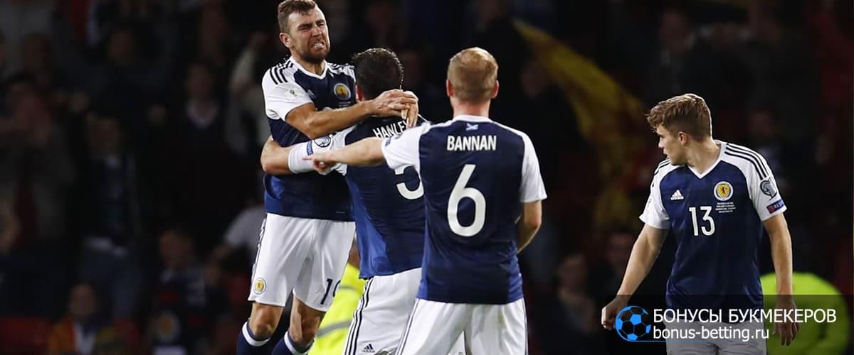 Шотландия - Израиль