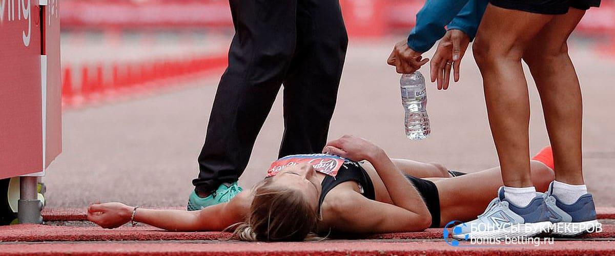 марафонцы финишная прямая