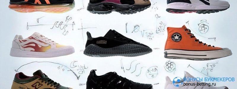Необычные кроссовки: несколько ярких моделей