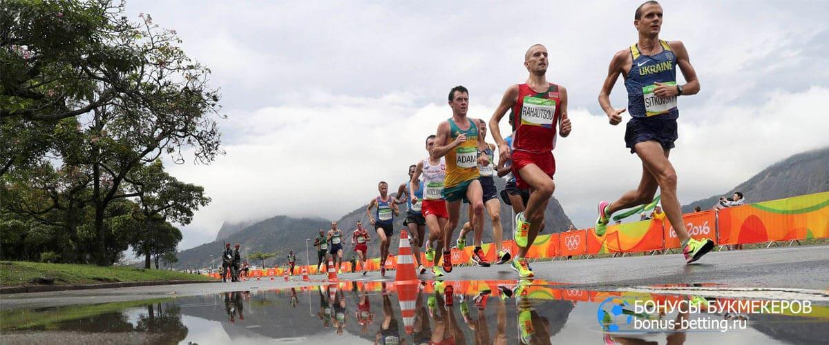марафон 42 км