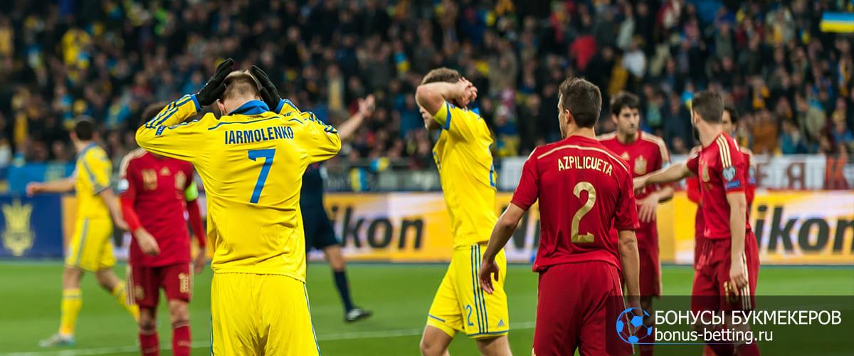 Украина - Испания