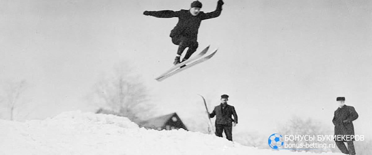 Прыжки на лыжах с трамплина: история