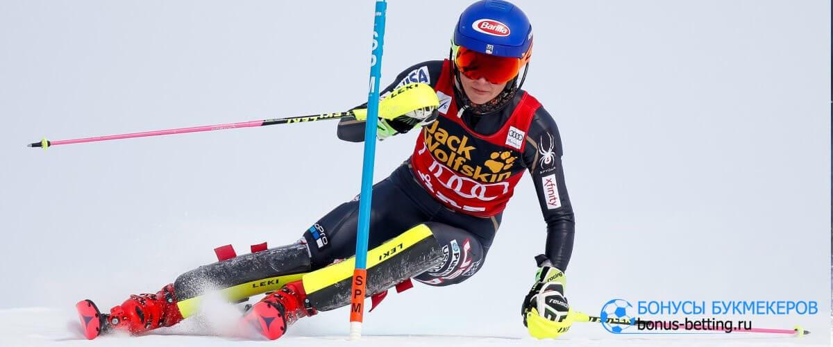горные лыжи история