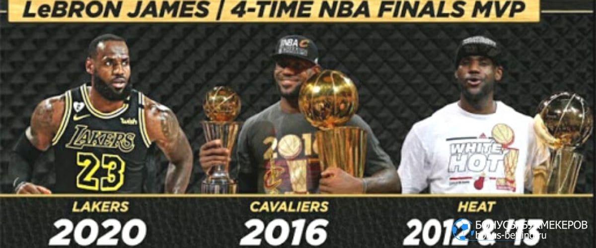 чемпион НБА 2020: Леброн Джеймс